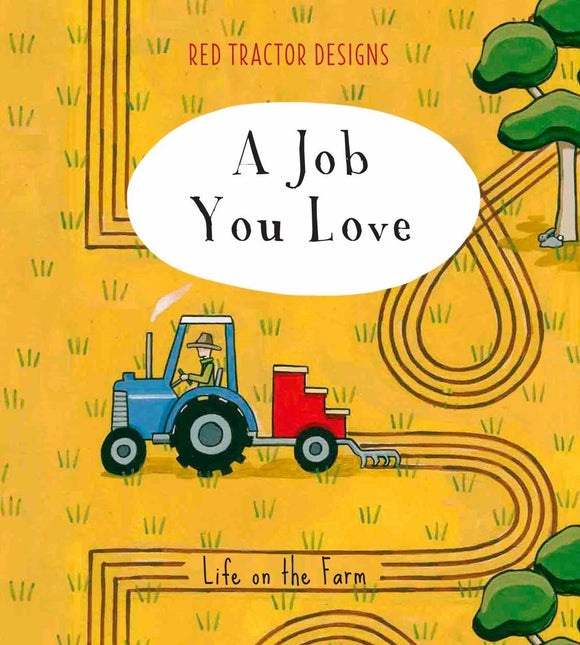 Red Tractor Little Quote Book