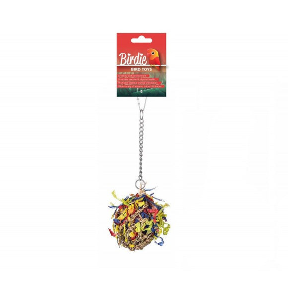 Birdie Foraging Super Shredder Ball Small