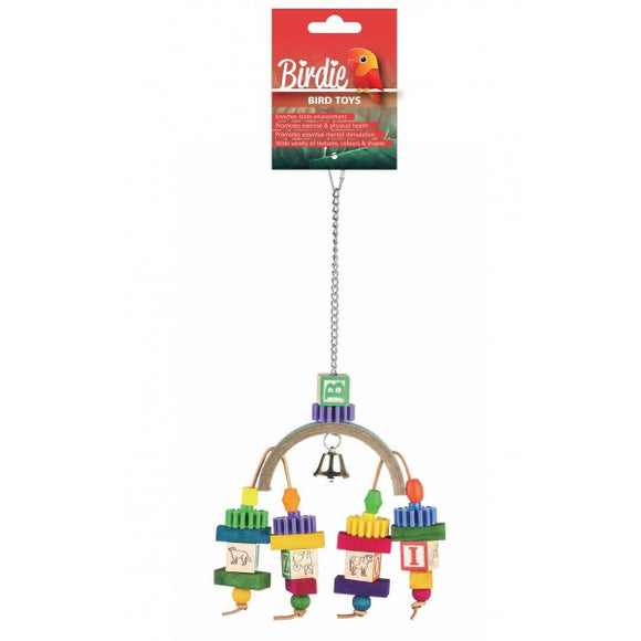 Birdie Rainbow Bridge Block Toy