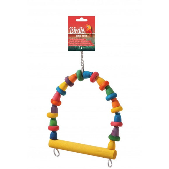 Birdie Rainbow Large Block and Spool Swing