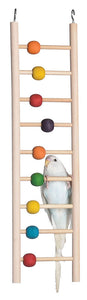 Feathered Friends Bird Ladder with Beads- 9 steps