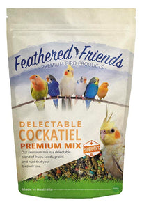 Delectable Cockatiel Premium Mix