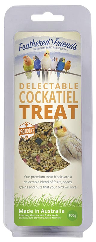 Feathered Friends Delectable Cockatiel Treat