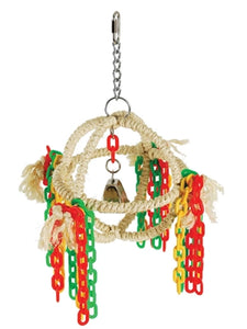 Sisal Activity Toy with Chains