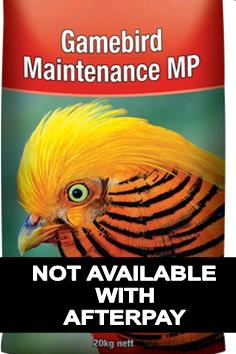 Game Bird Maintenance MP