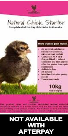 Seedhouse - Natural Chick Starter