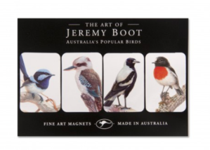 Australia's Popular Birds - Magnet 4 pack