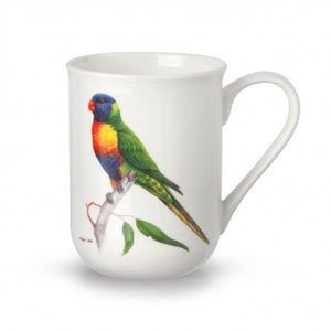 Birds of Australia Fine Bone China Cup - Lorikeet