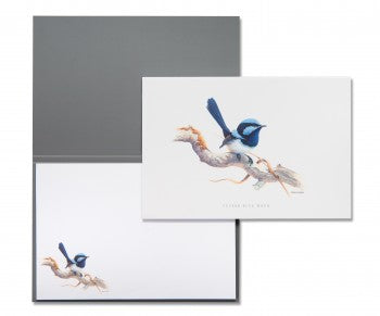 Blue Wren Notepad