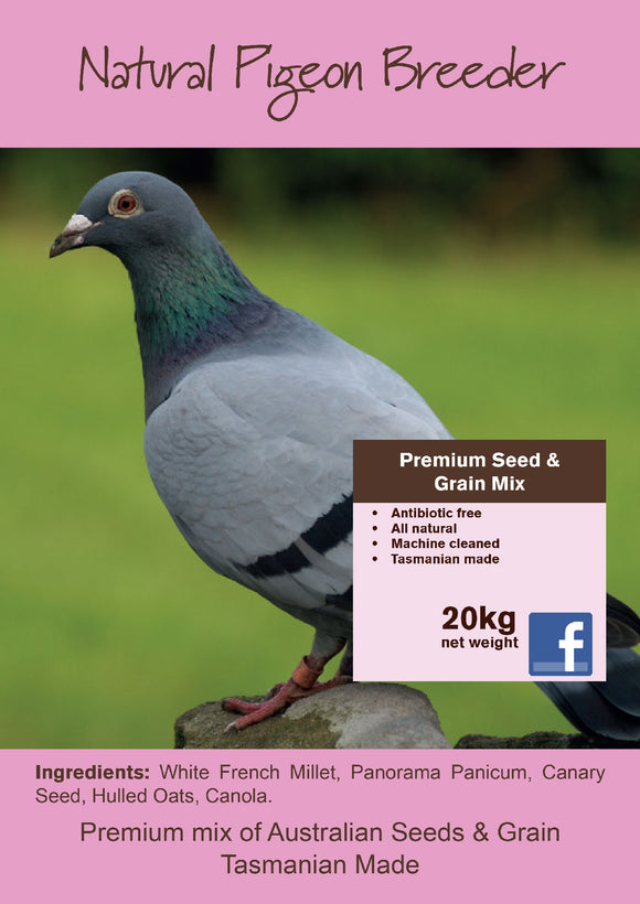 Pigeon Breeder Natural Seed 20kg / Sprout Mix