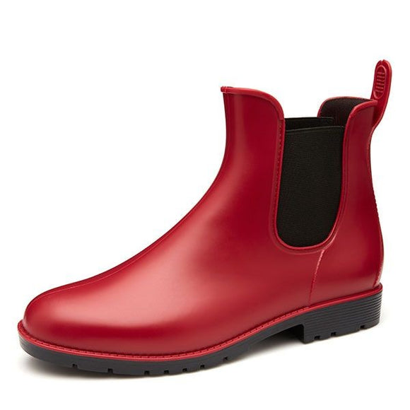 Sloggers Adele Ankle Boot - Red