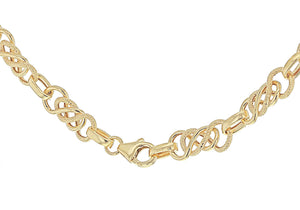 9ct Yellow Gold Celtic Chain