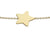 9ct Yellow Gold Star bracelet
