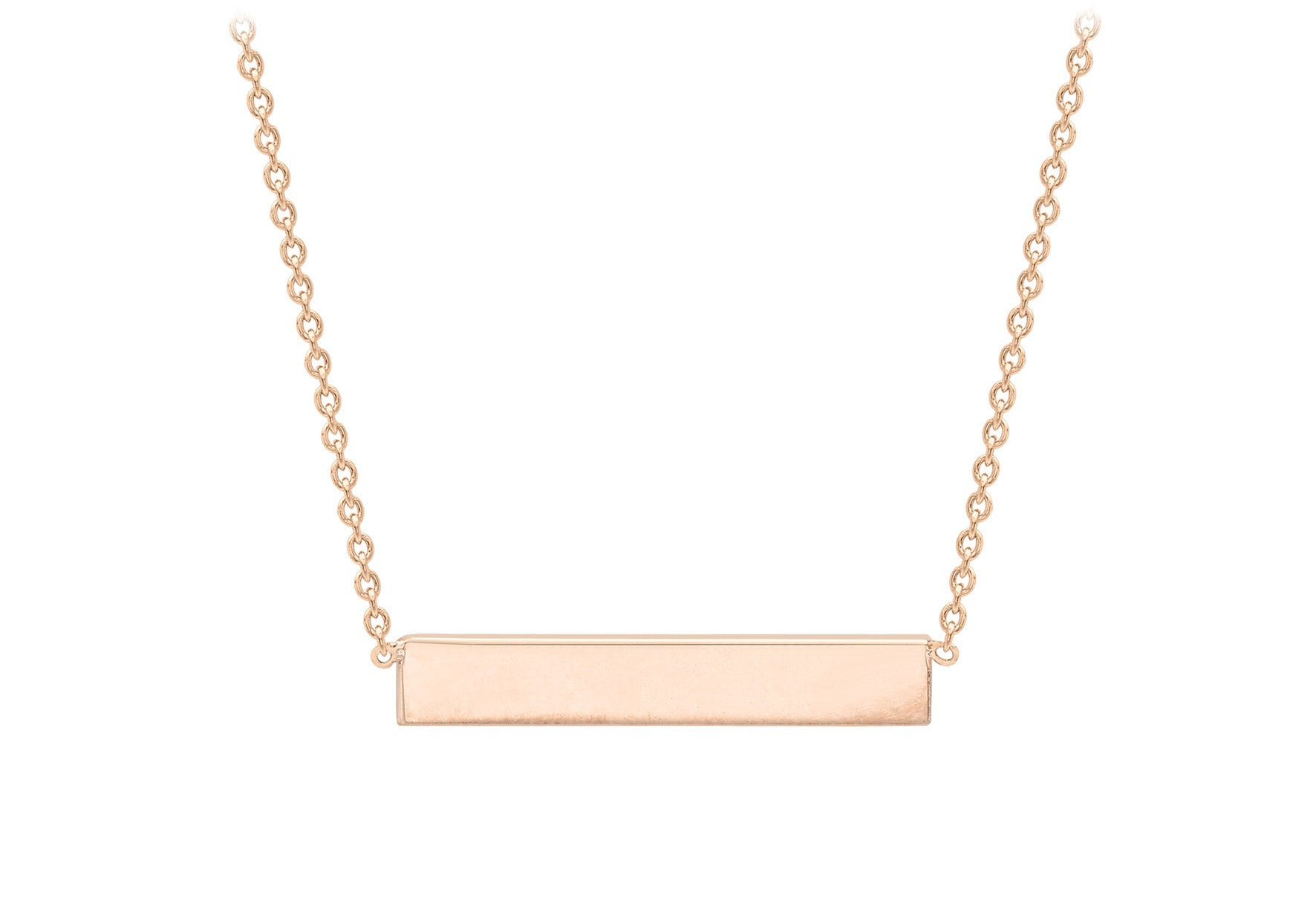 42cb601595c Buy 9ct Rose Gold Bar Necklace at Tzefira for only £120.00