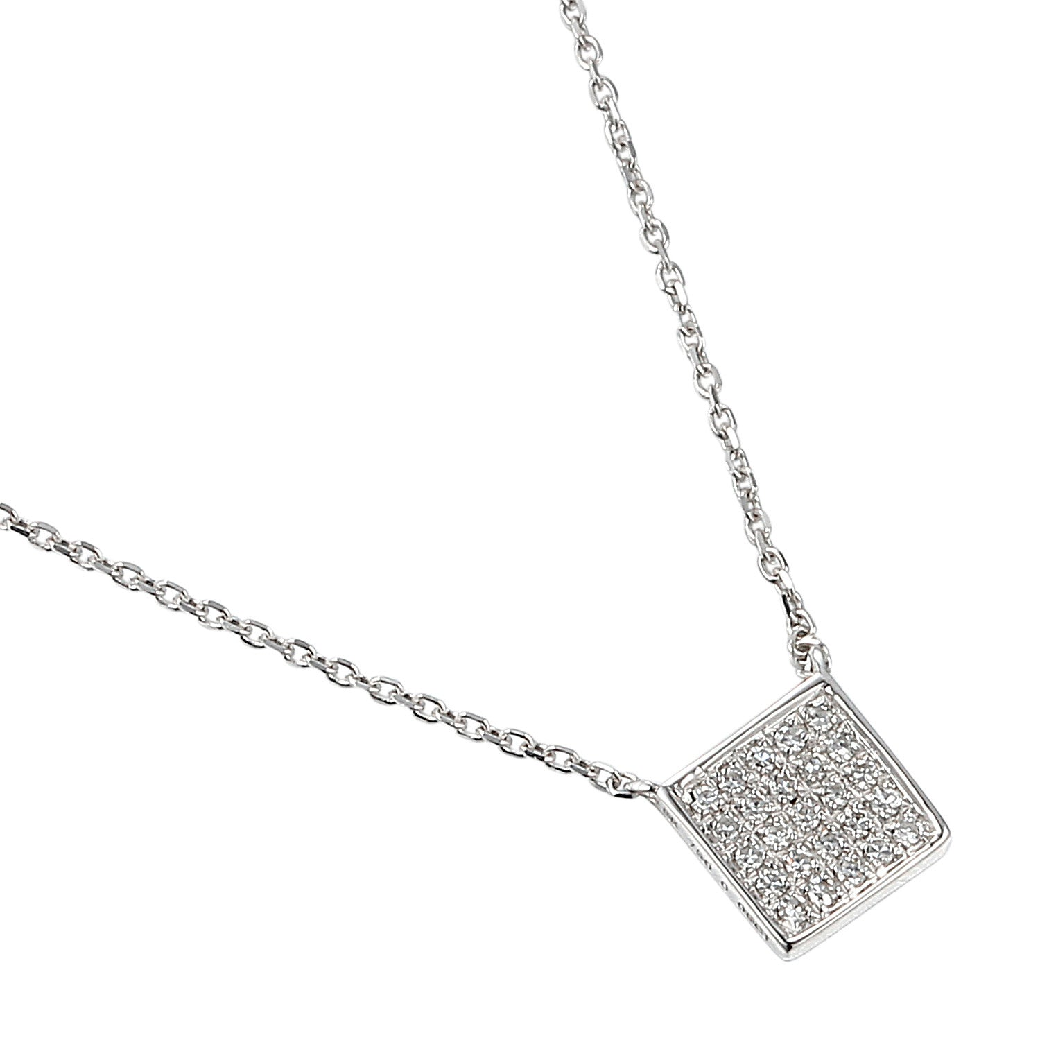 free shaped jewelry silver square sterling necklace shipping cluster today product i h pendant watches tdw com diamond overstock