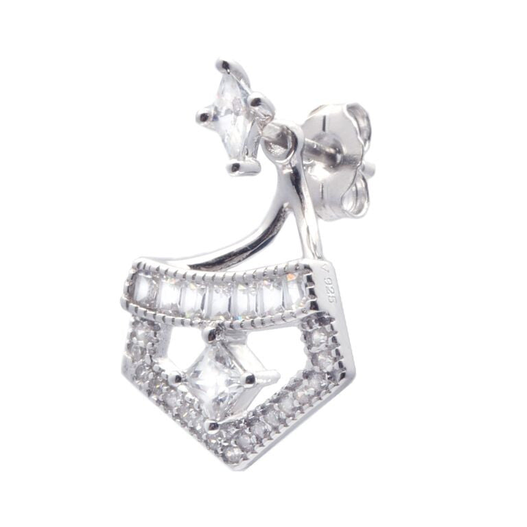 V Jewellery Arch Ear Jacket