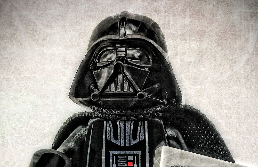 A BEmoji a day: My favourite minifigure (Star Wars - Dart Vader) with my favourite BEmoji tile (Day 7)