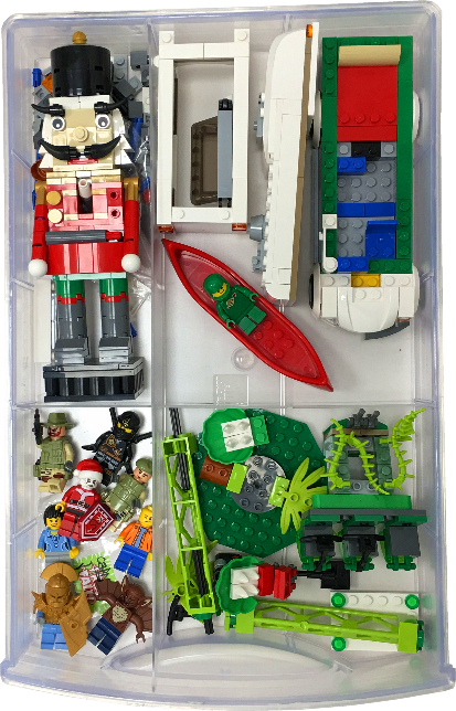 Instructions for Organizing LEGO for Junior Collectors