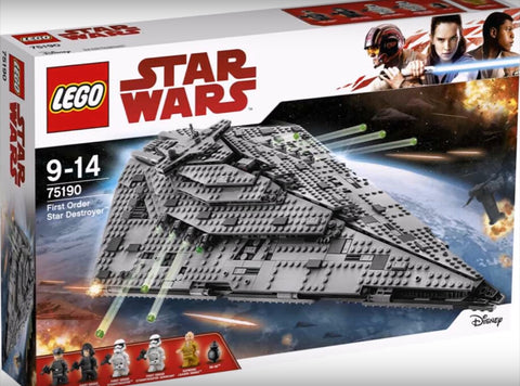 Lego 75190 star wars first order star destroyer set