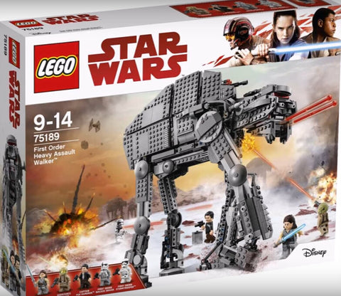 lego 75189 star wars first order heavy assult walker