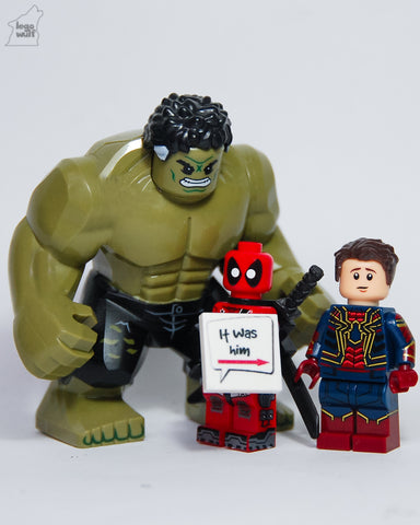 legowulf instagram hulk spiderman deadpool