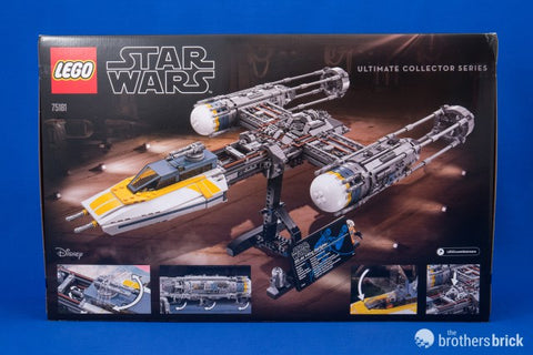 LEGO Star Wars Ultimate Collector Series 75181 Y-wing Starfighter ...
