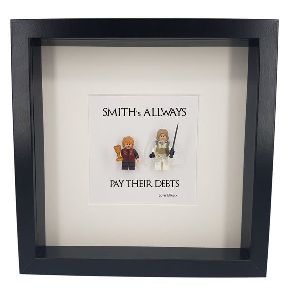 Jamie & Tyrion Lannister Gift For Brother Game Of Thrones Lannister Gift Ideas