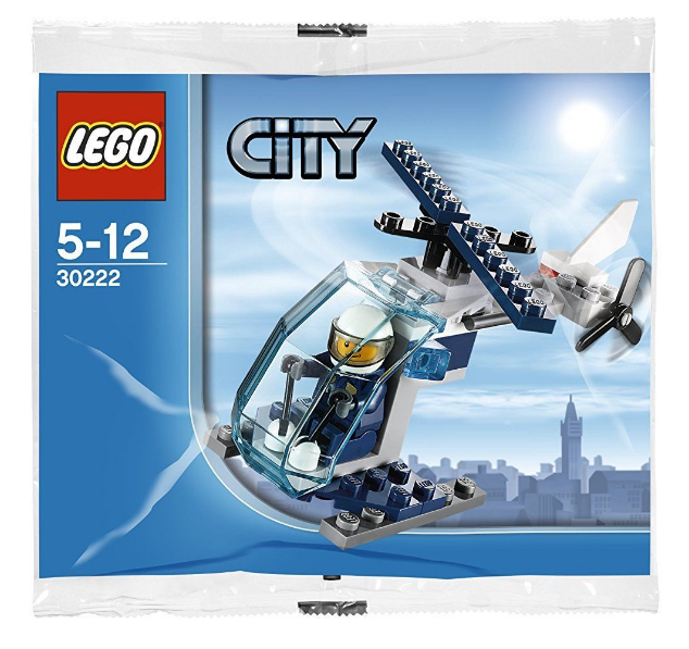 LEGO CITY Police Helicopter Polybag Set 30222 BNSIP