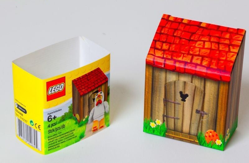 Lego seasonal chicken suit guy 5004468 brand new papimax lego minifigures easter gift chicken suit guy lego easter lego sets retired lego sets rare negle Image collections