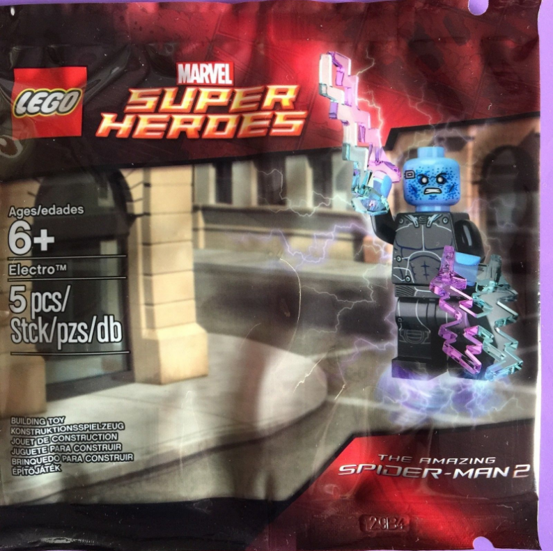 Lego 5002125 Marvel Super Heroes the Amazing Spider- Man 2 minifigure Electro