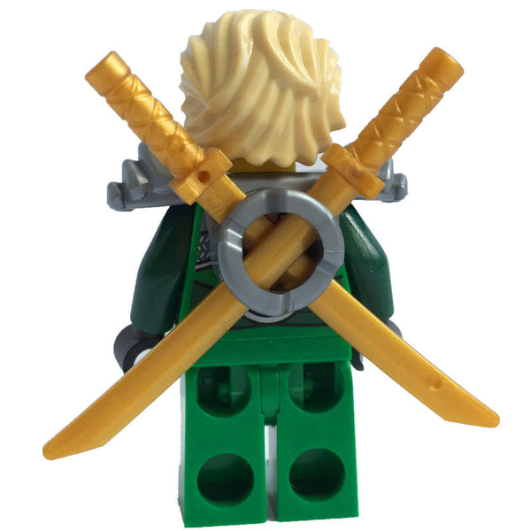 Lego 70728 Ninjago Lloyd mini figure new zx shoulder & golden weapon
