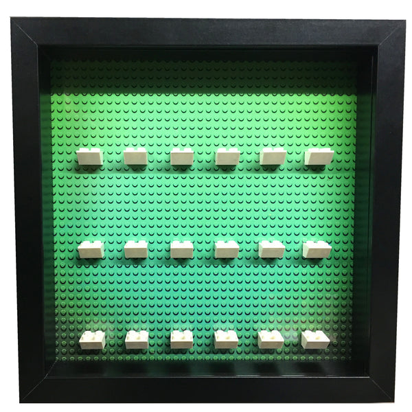Papimax-lego-minifigure-display-frame-green-printed-black