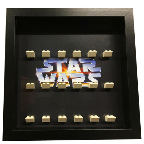 Lego minifigures series lego star wars rouge one display frame gift rebel side hans solo