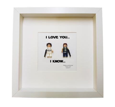 Lego Wedding Gifts I Love You Know Star Wars Gift