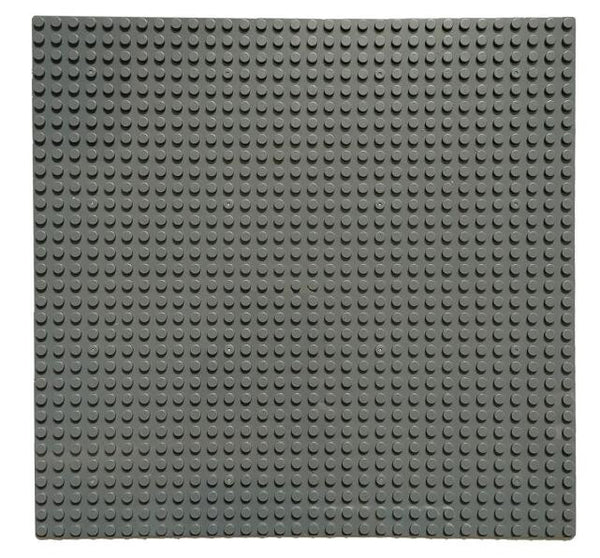 6 Pcs X Large Baseplate 32x32 studs 10'' X 10'' Dark Grey standard dots bricks minifigures project gray building block plate