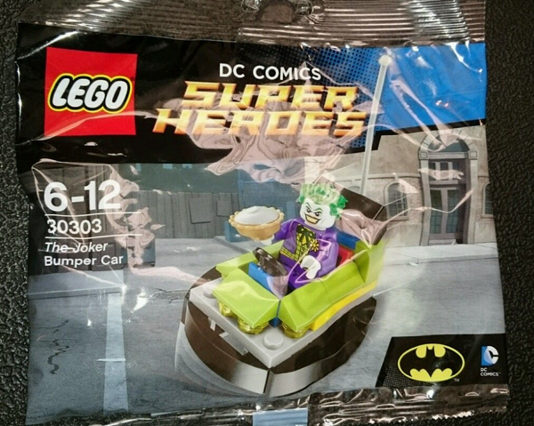 dc comics lego 30303 lego joker minifigure lego joker bumbper car the joke batman minifigures