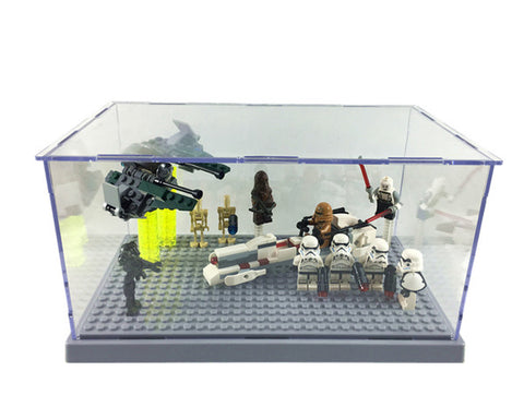 lego star wars display case Lego Minifigure storage