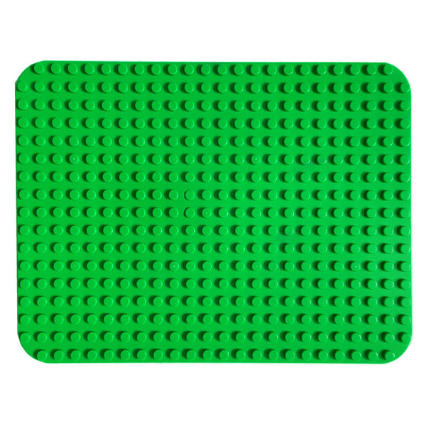 papimax duplo compatible base plate in dark green 24 x 17 studs