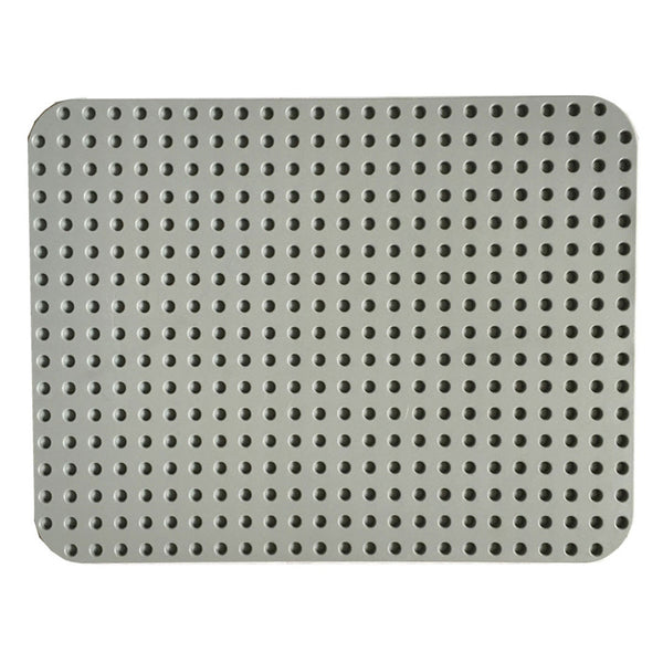 Papimax duplo compatible baseplate in light grey back