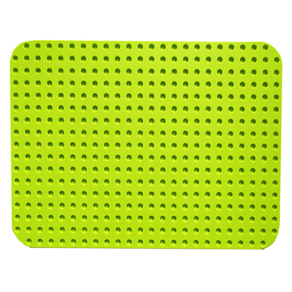 Papimax duplo compatible baseplate in light green back