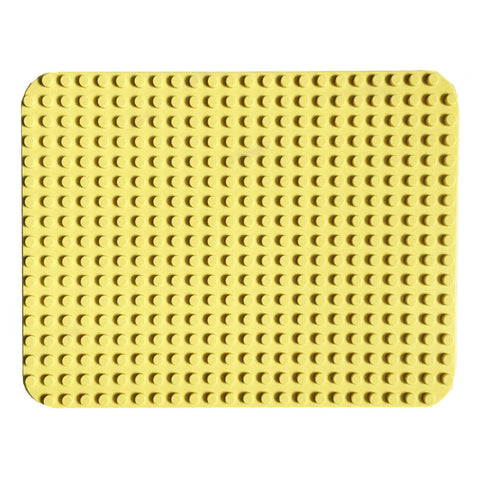 Papimax duplo compatible baseplate sand coloured 24x17 studs