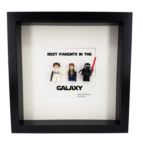 Star Wars Family Christmas Gift Frame, Gift For Mum, Dad, Grandparents