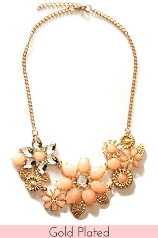 Flora Statement Necklace