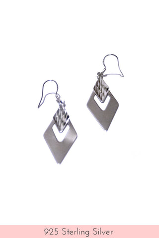 925 Sterling Silver Valhalla Drop Earrings
