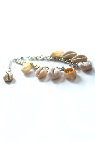 Sadie Cowry Shell Anklet