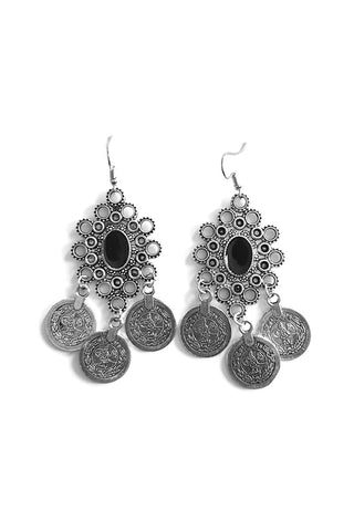 Chiara Antique Turkish Coin Earrings