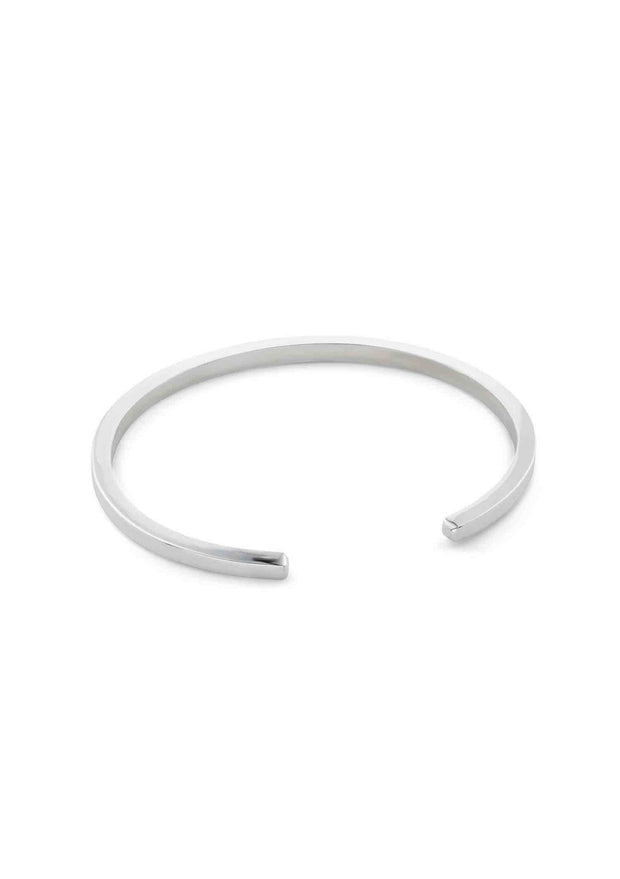 NO MORE accessories Handcuff Bracelet in sterling silver