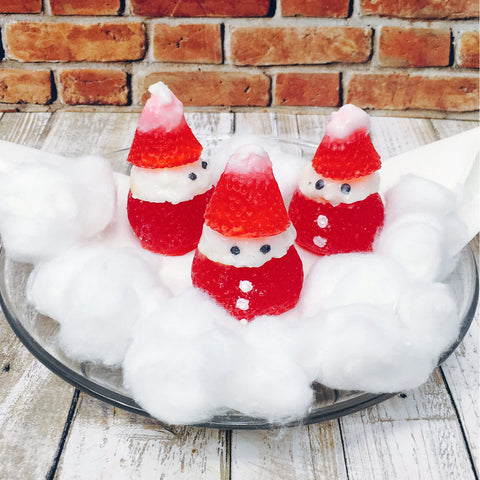 Santa Stuffed Strawberry (x2)