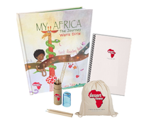 """Desert Flower Power"" Box and your personal copy of ""My Africa- The Journey"""