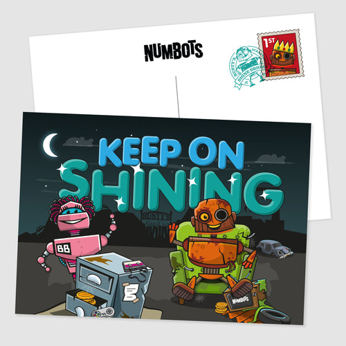 NumBots Postcards (10 Pack)